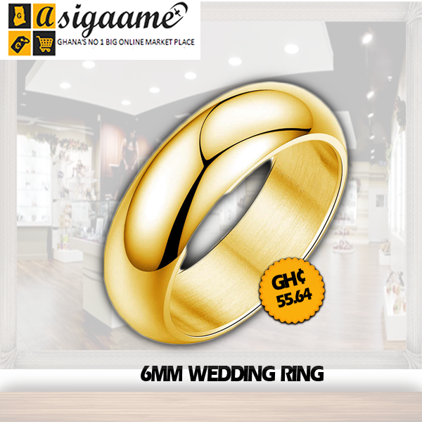 6MM WEDDING RING