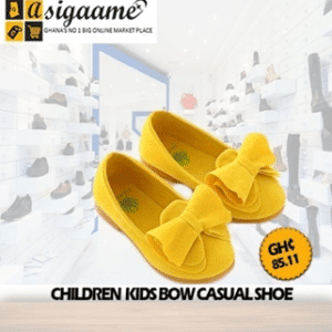 Children Kids Bow Casual Shoes