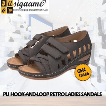 Hollow Wedge Shoes Ladies Casual