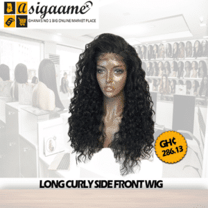 LONG CURLY SIDE FRONT WIG