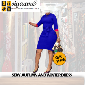 SEXY AUTUMN AND WINTER DRESS