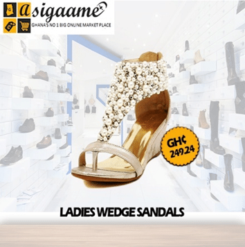 Wedges Sandals Women Shoes - High Heel Studded