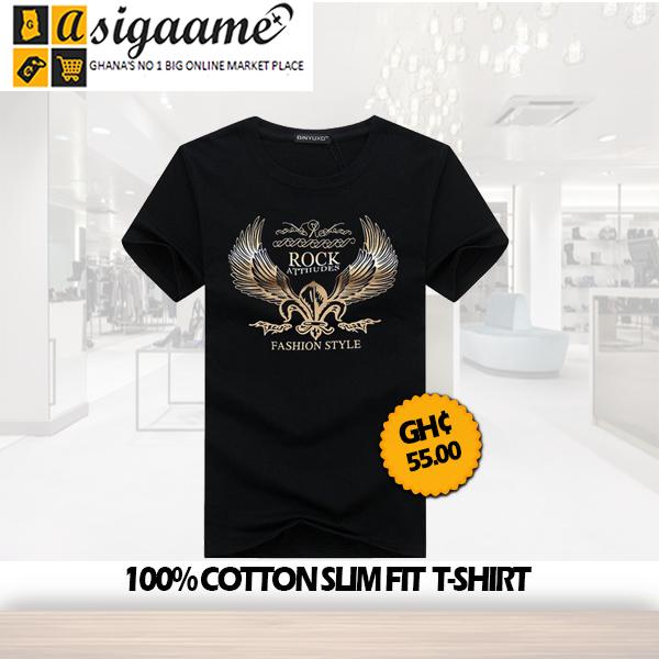 100 Cotton Slim Fit T shirt