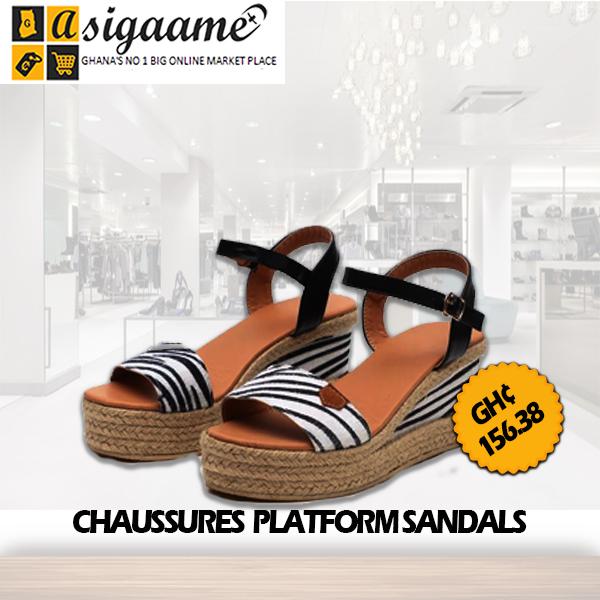 CHAUSSURES PLATFORM SANDALS 1