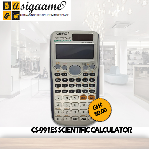 CS 991ES SCIENTIFIC CALCULATOR