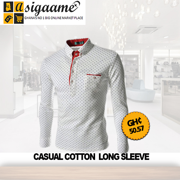Casual Cotton Long Sleeve