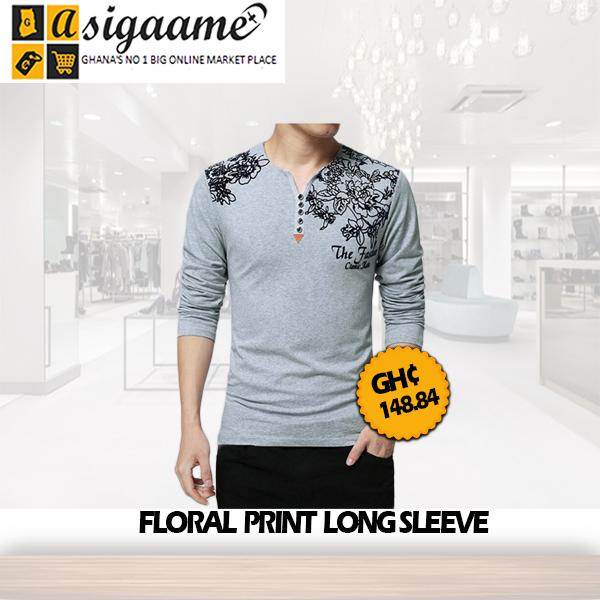 Floral Print Long Sleeve
