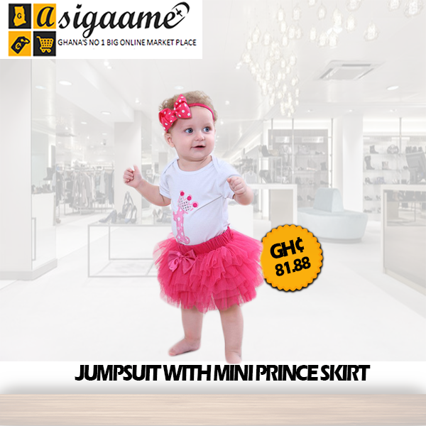 JUMPSUIT WITH MINI PRINCE SKIRT