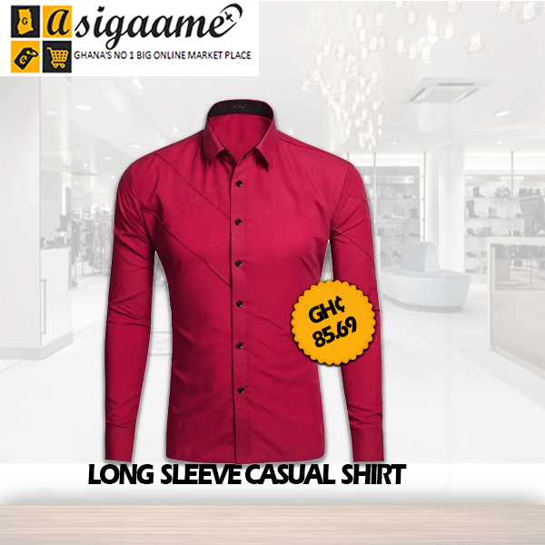 Long Sleeves Casual Shirt