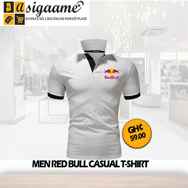 Men Red Bull Casual T shirt