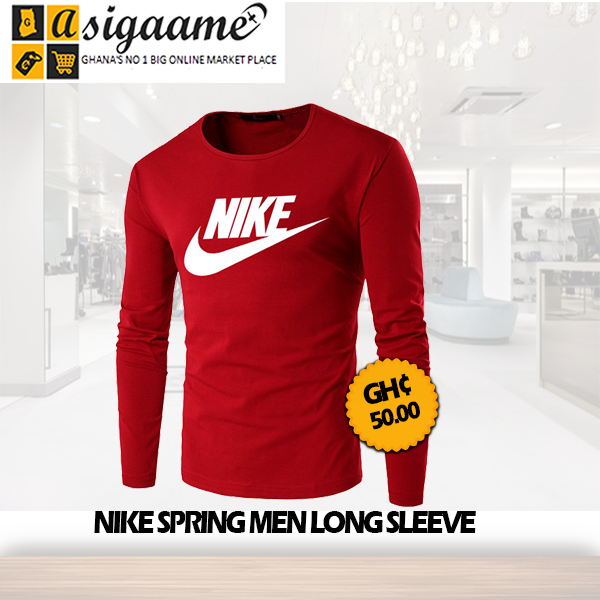 Nike Spring Mens Long Sleeve