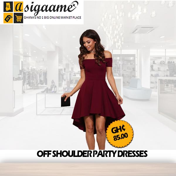 Off Shoulder Party Dresses
