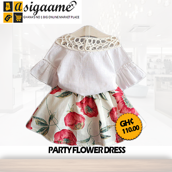 Party Flower Dress