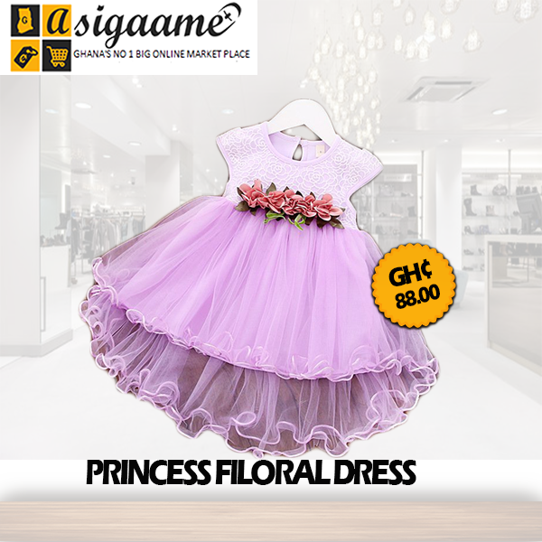 Princess Floral Dresse