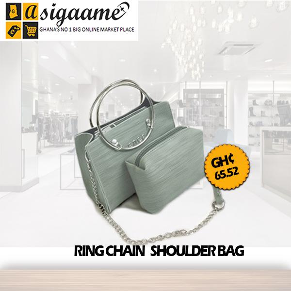 Ring Chain Shoulder Bag