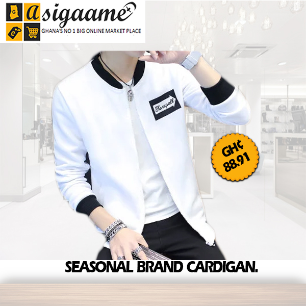 SEASONAL BRAND CARDIGAN