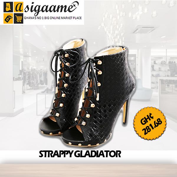 STRAPPY GLADIATOR