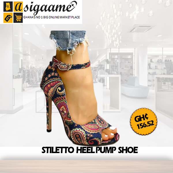 Stiletto Heel Pump Shoe