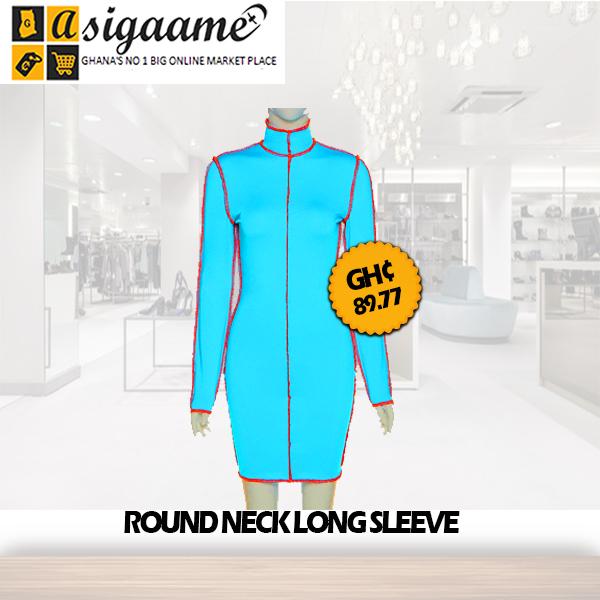 round neck long sleeve