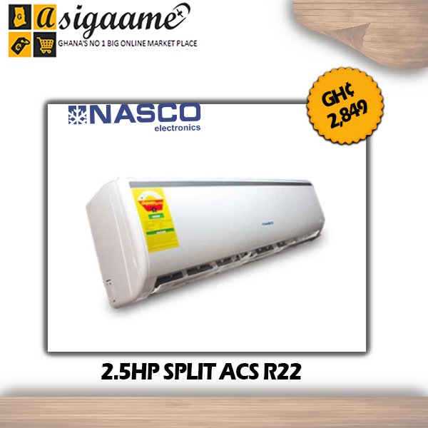 2.5HP SPLIT ACS R22