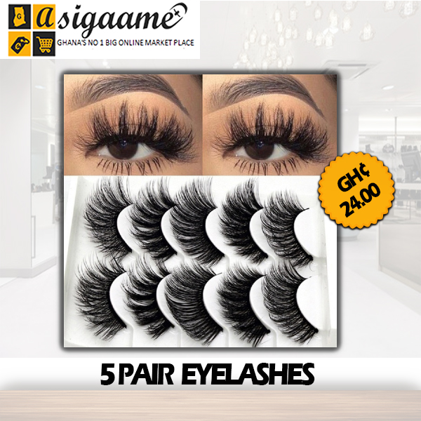5 PAIR EYELASHES