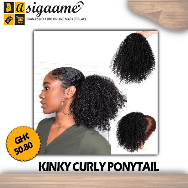Kinky Curly Ponytail