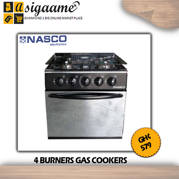 4 BURNERS GAS COOKERS