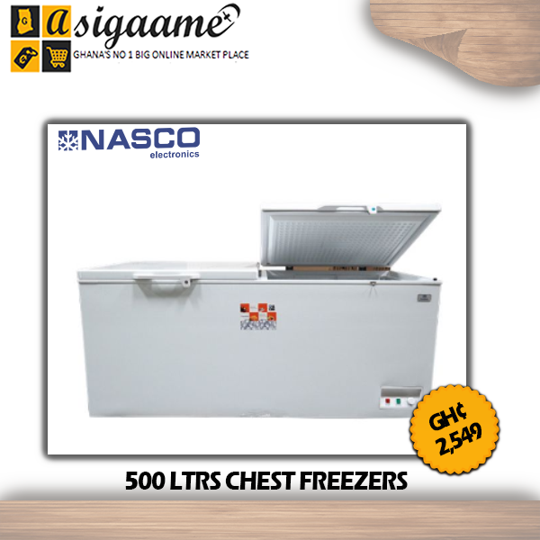 500 LTRS CHEST FREEZERS