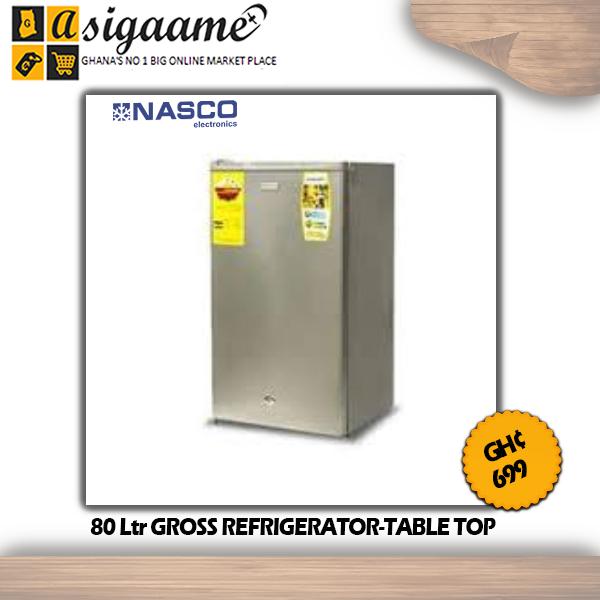 80 Ltr GROSS REFRIGERATOR TABLE TOP