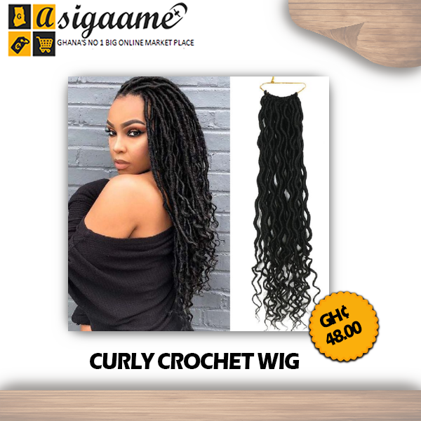 CURLY CROCHET WIG