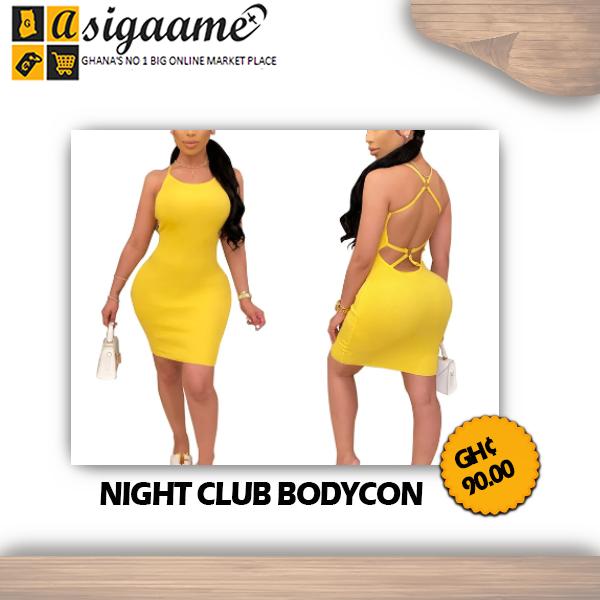 NIGHT CLUB BODYCON
