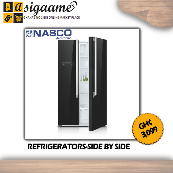 REFRIGERATORS SIDE BY SIDE