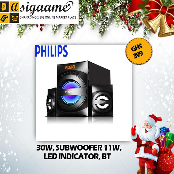 30W SUBWOOFER 11W LED INDICATOR BT