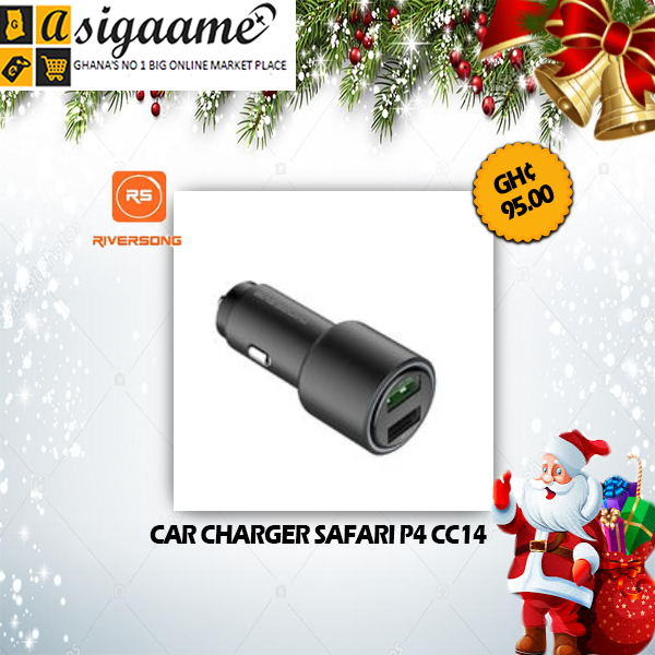 CAR CHARGER SAFARI P4 CC14