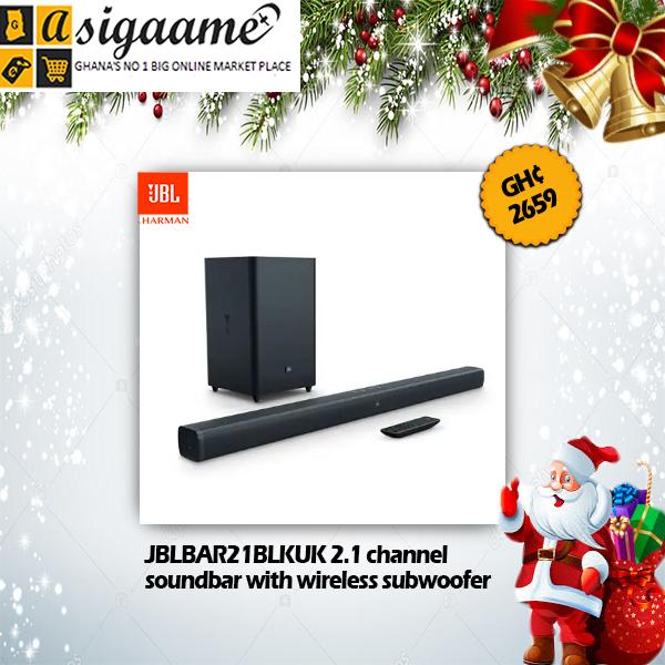 JBLBAR21BLKUK 2.1 channel soundbar with wireless subwoofer