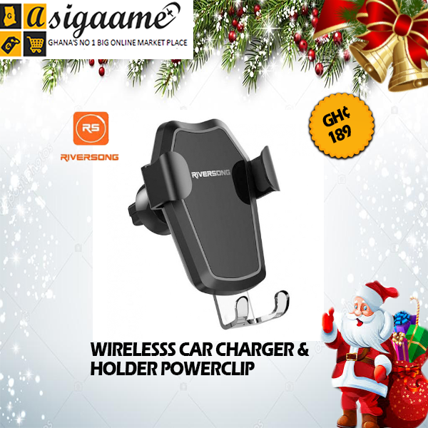 WIRELESSS CAR CHARGER HOLDER POWERCLIP CH02