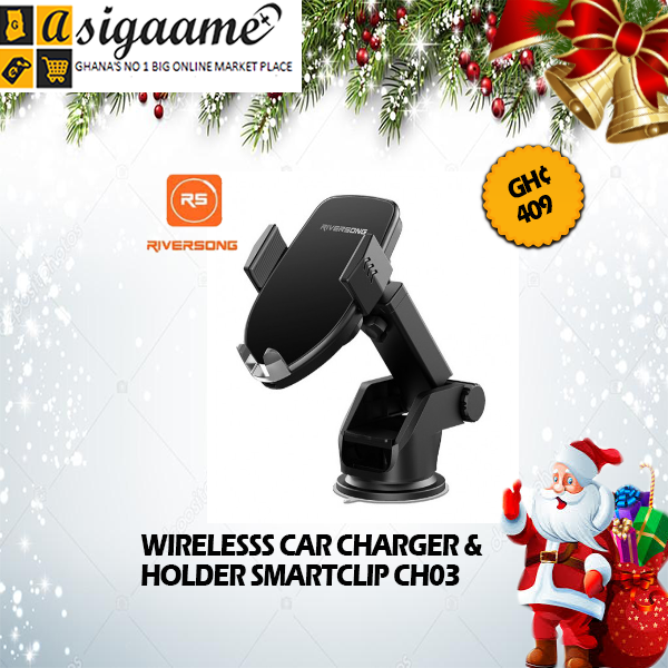 WIRELESSS CAR CHARGER HOLDER SMARTCLIP CH03